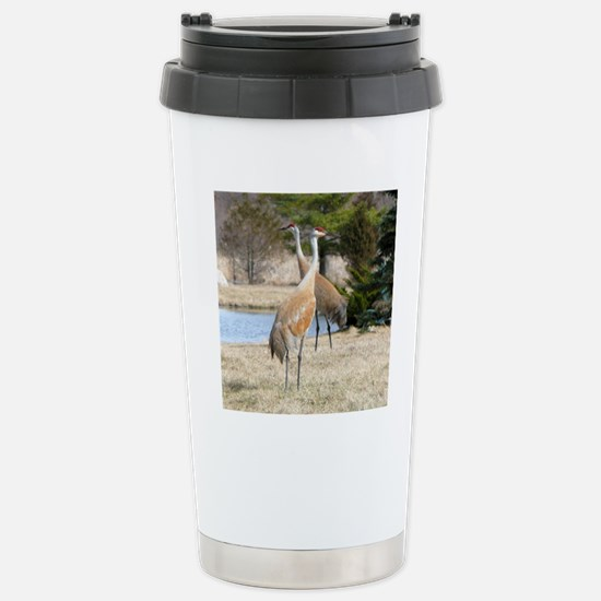 SandCrTile Stainless Steel Travel Mug