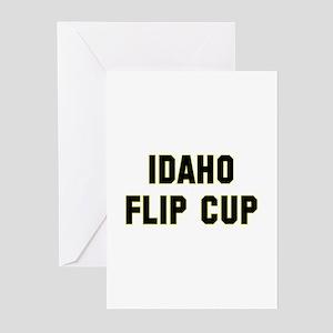 Idaho Flip Cup Greeting Cards (Pk of 10)