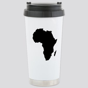 African Continent_Large Stainless Steel Travel Mug