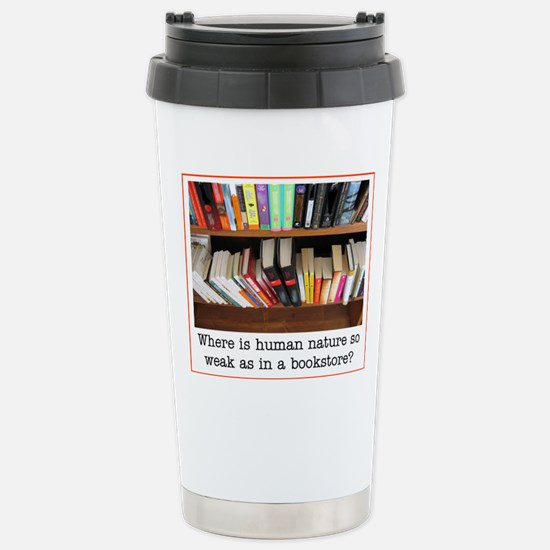 bookstore Stainless Steel Travel Mug