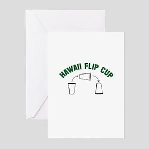 Hawaii Flip Cup Greeting Cards (Pk of 10)