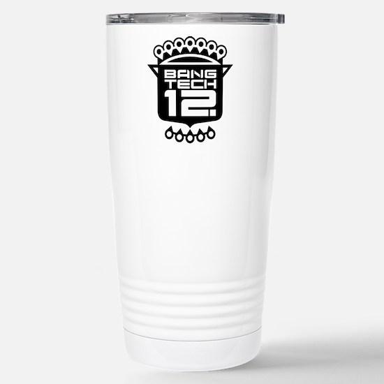 10x10 Center Black Stainless Steel Travel Mug