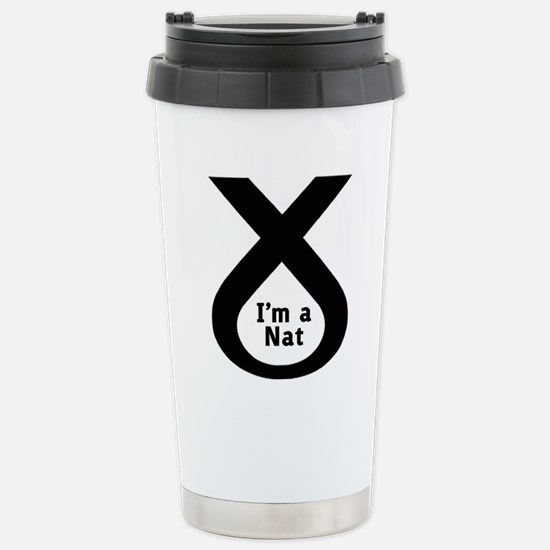snp2 Stainless Steel Travel Mug