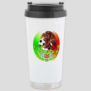 MEXICO SOCCER EAGLE Stainless Steel Travel Mug