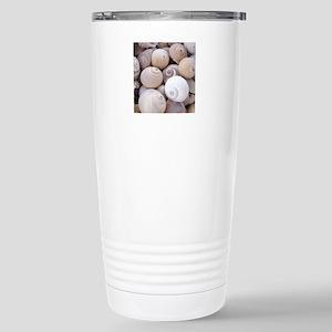 shells Stainless Steel Travel Mug