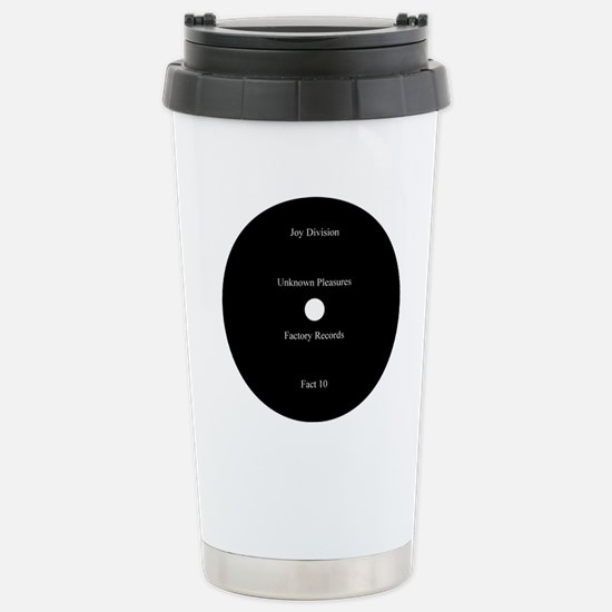 Joy Division Unknown Pl Stainless Steel Travel Mug