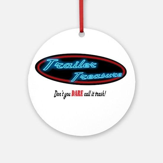 Trailer Treasure Ornament (Round)
