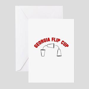 Georgia Flip Cup Greeting Cards (Pk of 10)
