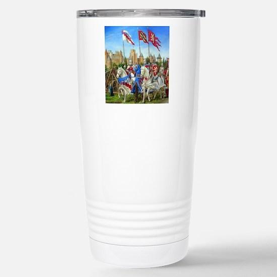 siege carcassonne squ Stainless Steel Travel Mug