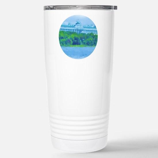 Mackinac Hotel-water Ci Stainless Steel Travel Mug
