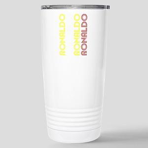 Ronaldo Stainless Steel Travel Mug