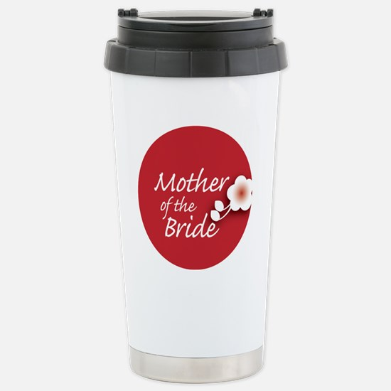 2-button_motherBride Stainless Steel Travel Mug