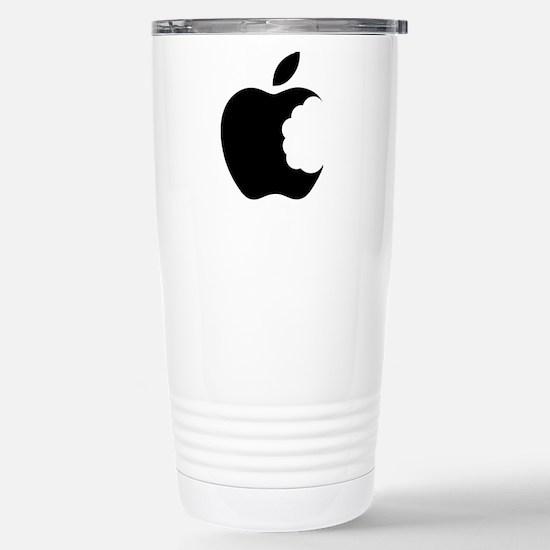 apple logo Stainless Steel Travel Mug