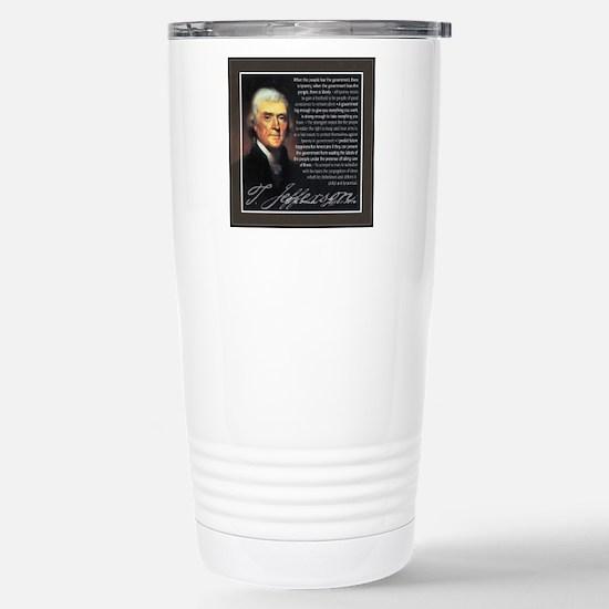TJ Quotations Stainless Steel Travel Mug