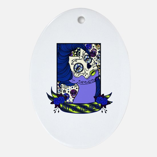 Funny All souls day Oval Ornament