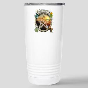 HARMONY-PENTACLE LG Stainless Steel Travel Mug
