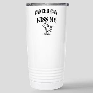 CancerCanOneSided2 Stainless Steel Travel Mug