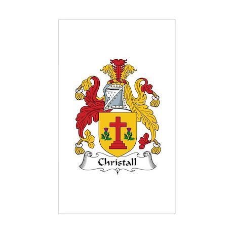 Christall Rectangle Sticker