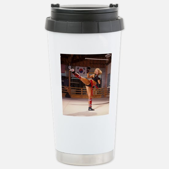 AD-0043R aa1 Stainless Steel Travel Mug