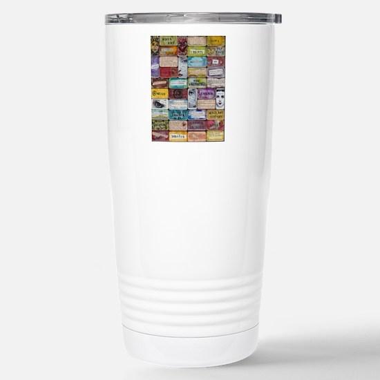 CollageSheet1 Stainless Steel Travel Mug