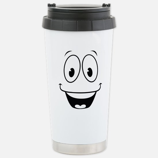 Yes Man Stainless Steel Travel Mug