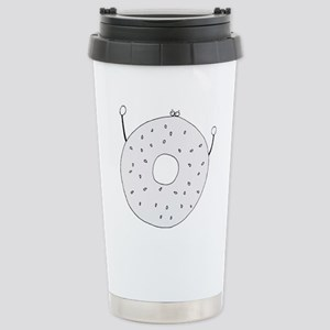 Bagel - cafe Stainless Steel Travel Mug