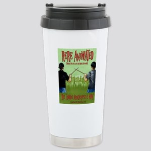 Undead Invasion w:names Stainless Steel Travel Mug