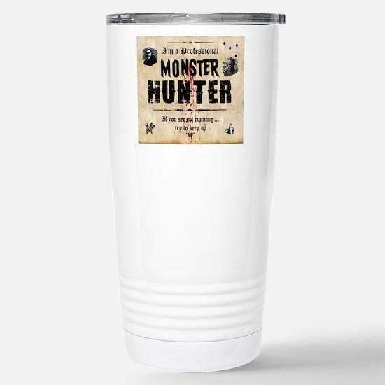 monsterhunter_mousepad Stainless Steel Travel Mug