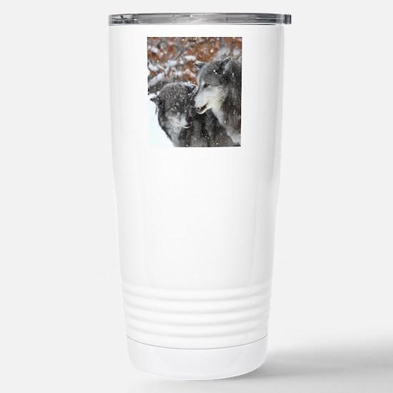 x10 shn wolf Stainless Steel Travel Mug