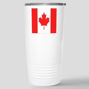 Canadian Stainless Steel Travel Mug