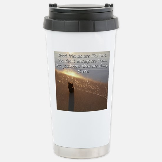 Mousepad - Good friends Stainless Steel Travel Mug