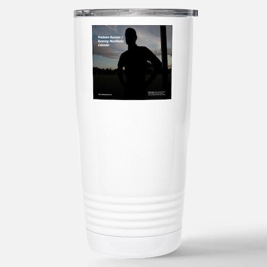 Predawn Runner Calendar Stainless Steel Travel Mug