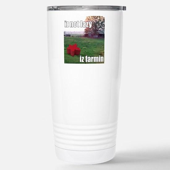 lolmeeple farm Stainless Steel Travel Mug