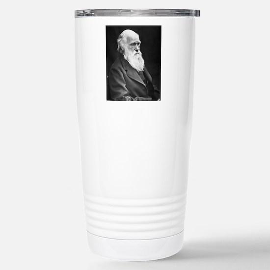 Darwin_mousematpng Stainless Steel Travel Mug
