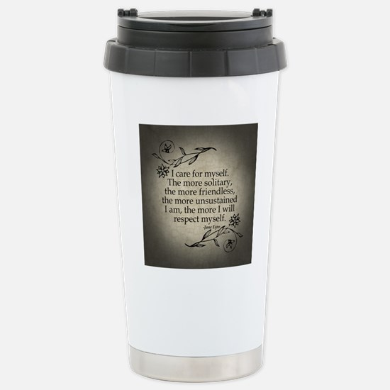 i-care-for-myself_b Stainless Steel Travel Mug