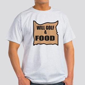 Will Golf 4 Food Light T-Shirt