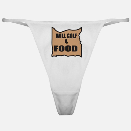 Will Golf 4 Food Classic Thong