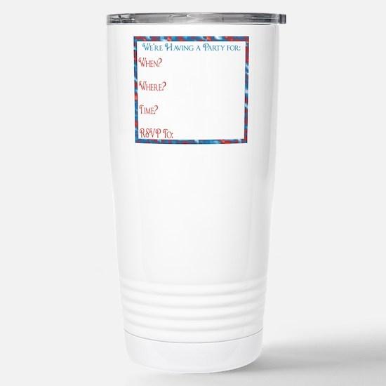 Retired Postal worker I Stainless Steel Travel Mug