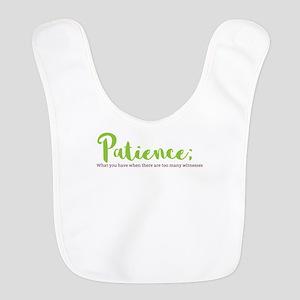 Paitience Polyester Baby Bib