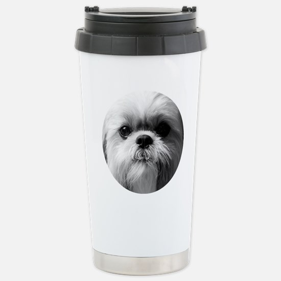 Shih Tzu Photo Stainless Steel Travel Mug