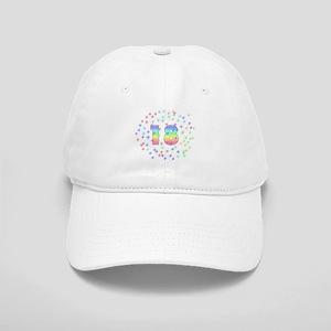 Hats 18th Birthday Pastel Stars Cap