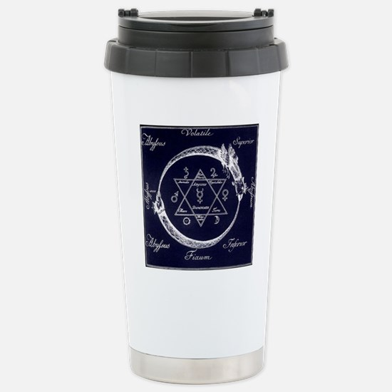 ouroboros-and-solomons- Stainless Steel Travel Mug