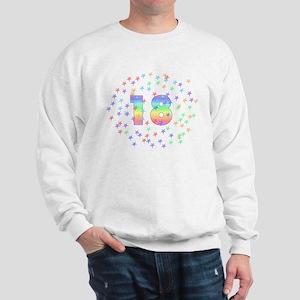 18th Birthday Pastel Stars Sweatshirt