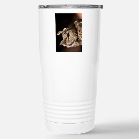 (12p) Burrowing Owl Pro Stainless Steel Travel Mug