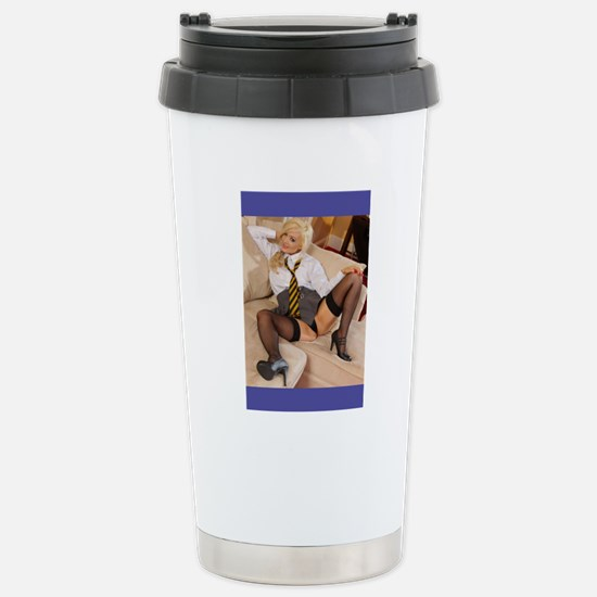 An Office Schoolgirl Stainless Steel Travel Mug