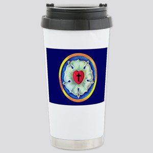 Luther Seal License Pla Stainless Steel Travel Mug