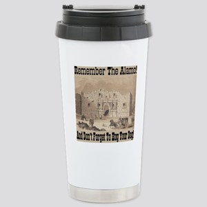 remember_the_alamo_1854 Stainless Steel Travel Mug