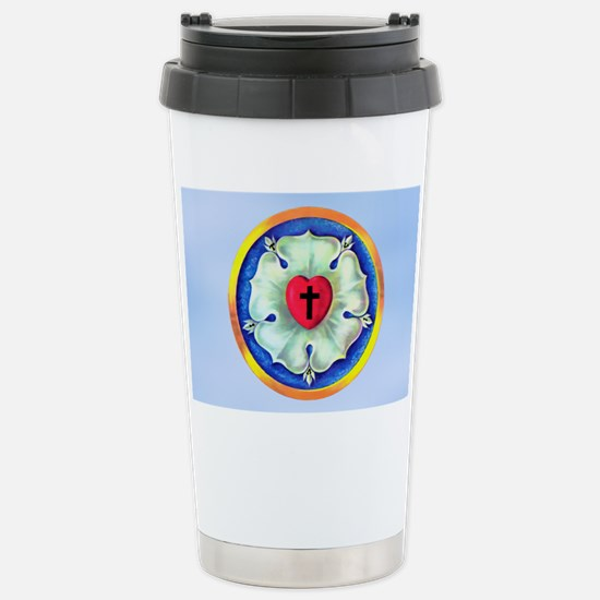 Luther Seal 3 License P Stainless Steel Travel Mug