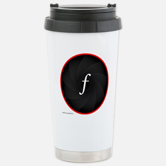 L-lens-f Stainless Steel Travel Mug