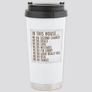 In This House Stainless Steel Travel Mug
